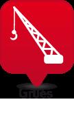 Vente et réparation de grues compacteurs en lorraine